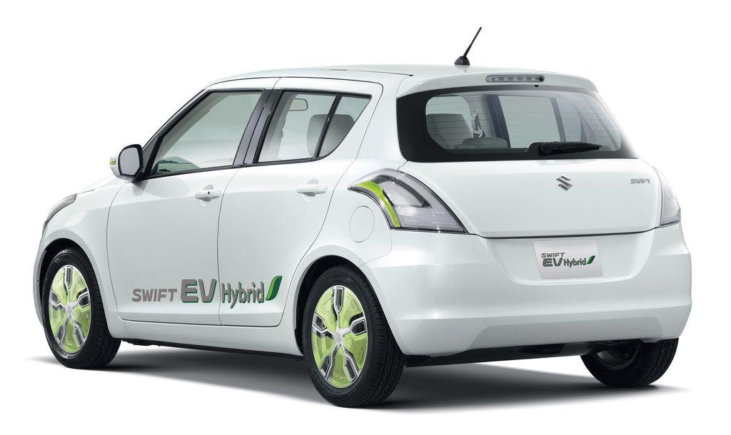 Suzuki Swift Hybrid von hinten